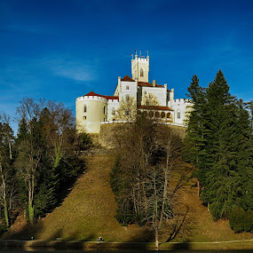 Dvorac Trakošćan by Natalie Zvonar - Buildings & Architecture Public & Historical