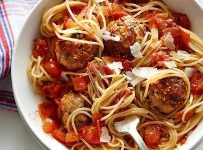 Chicken Margherita Meatballs Recipe