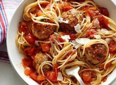 Chicken Margherita Meatballs
