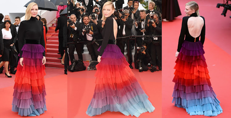 Cate Blanchett in Givenchy at Cannes Film Festival