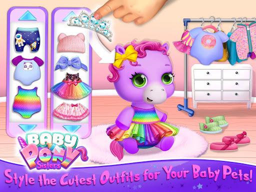 Baby Pony Sisters - Virtual Pet Care & Horse Nanny 5.0.14002 screenshots 10