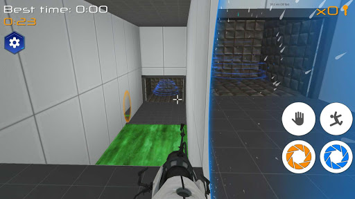 Portal Maze 2 - Aperture spacetime jumper games 3d 1.4 screenshots 11