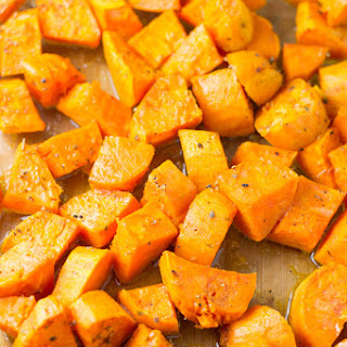 Baked Sweet Potato Chunks Recipes