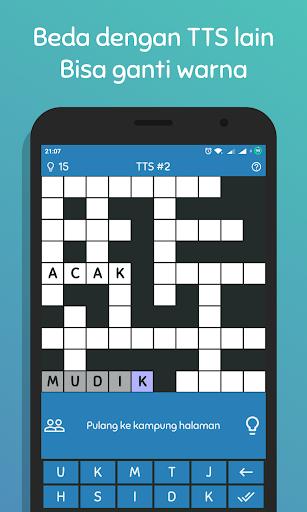 TTS Pintar 2018 - Teka Teki Silang Offline 1.2.3 gameplay | by HackJr.Pw 2