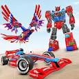 Eagle Robot Car Game – Formula Car Robot Games