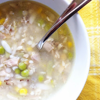 Turkey and Orzo Soup with Lemon Recipe