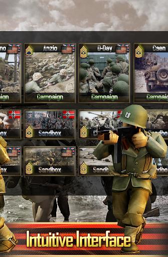 Frontline: Western Front - WW2 Strategy War Game screenshots 8