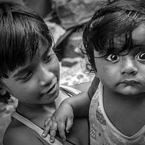 Astonished !!! by Sankalan Banik - Babies & Children Children Candids