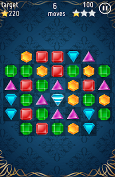 Jewels Crush Free apk screenshot