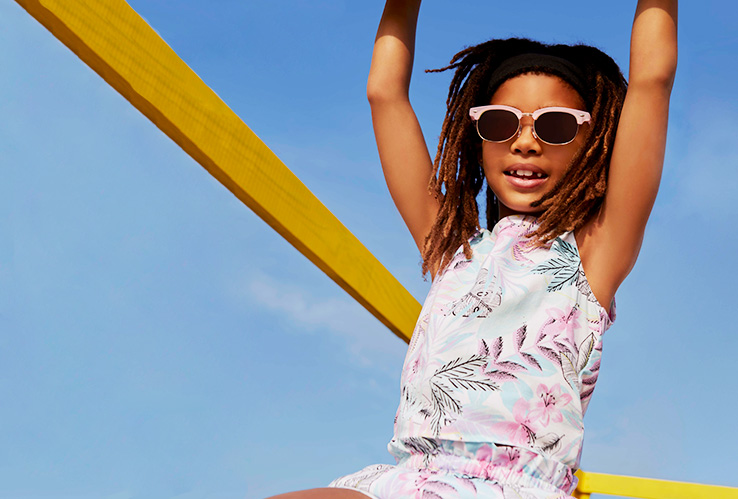 Kit them out for a summer of fun with the latest clothing, accessories and swimwear