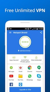 Hotspot Shield Free VPN Proxy Screenshot 1