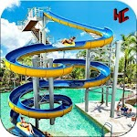 Water Park Slide Adventure Icon