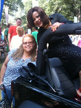 Photo: 2010 Pride - your blogmistress and WRAL-TV Anchor/Reporter Pam Saulsby.