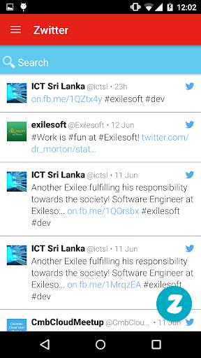 Zwitter 1.0.0 screenshots 3