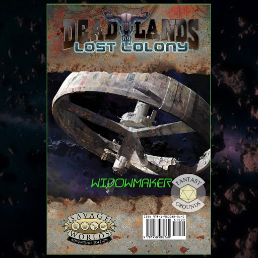 Widowmaker for Deadlands: Lost Colony on Steam & Fantasy Grounds