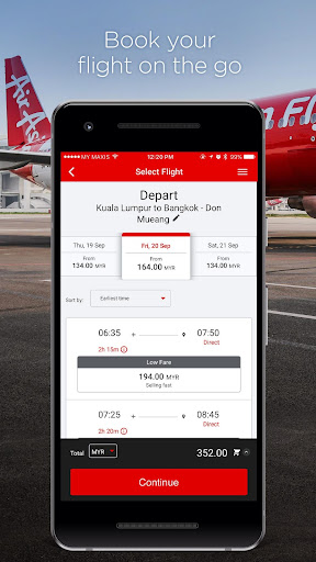 AirAsia  screenshots 2