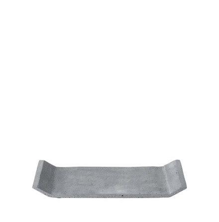 MOON Bricka 30x12 cm, Mörkgrå