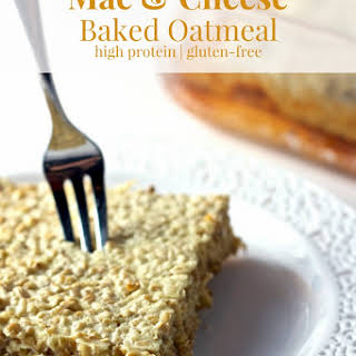 Gluten-Free Mac and Cheese Baked Oatmeal.