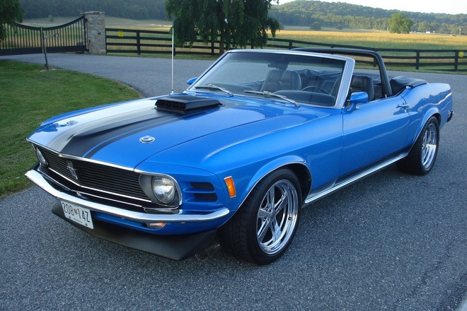 1970 FORD MUSTANG CONVERTIBLE - ONE OF 13 Hire MD