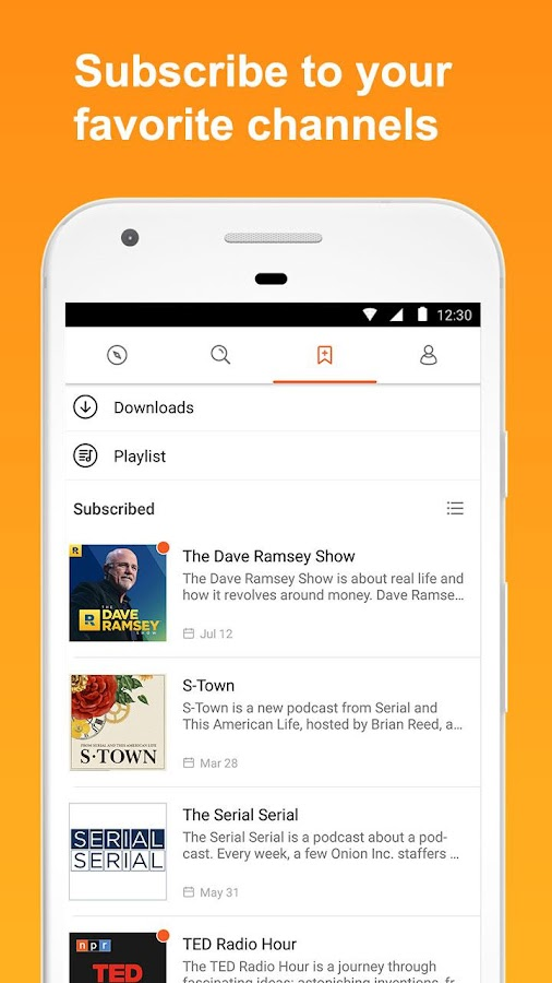 CastBox: Free Podcast Player, Radio & Audio Books- screenshot