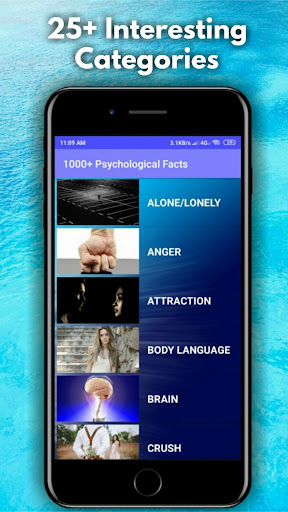 1000+ Psychology Facts - Brain, Music, Love, etc  App Report