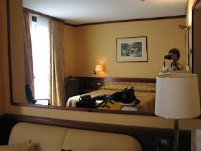Photo: Da freut man sich über die Ankunft in einem geräumigen Zimmer ...