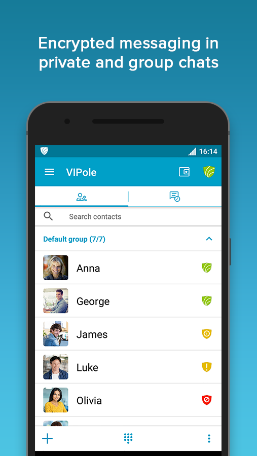 VIPole Private Messenger- screenshot