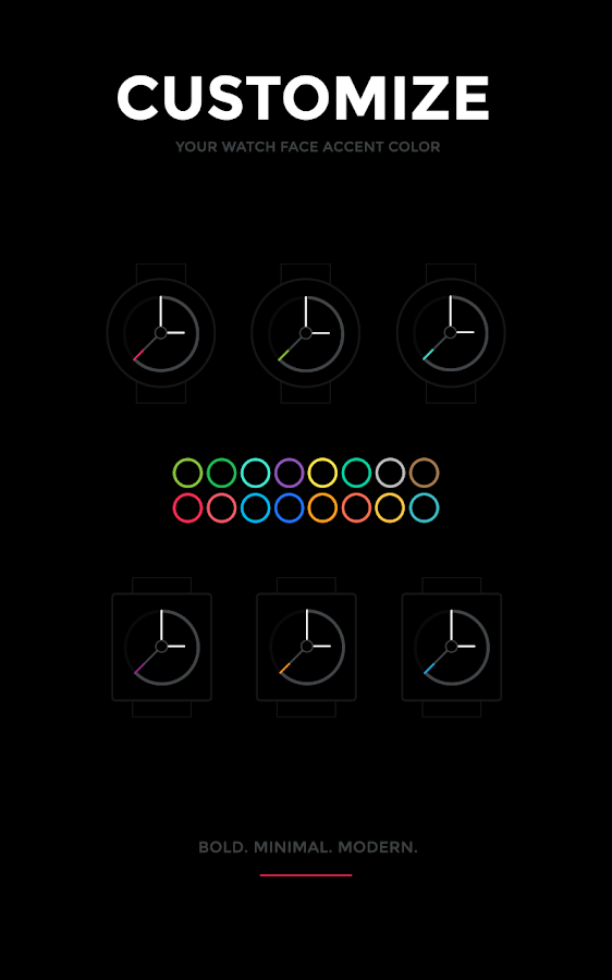Watch Faces by Hyperflow- screenshot