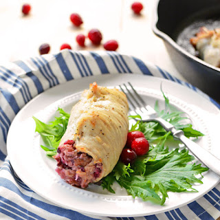 Cranberry Stuffing Turkey Cutlets Recipe
