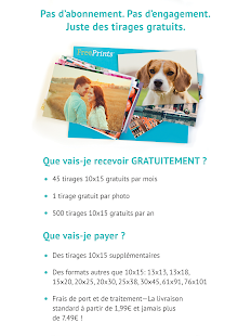 Free Prints - Photos Gratuites – Vignette de la capture d'écran