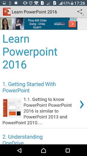 Learn PowerPoint 2016 Online screenshot 2