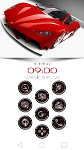 Wheels Red - Icon Pack screenshot 6