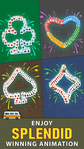 Solitaire Landmark: Brained Out Puzzle Card apkmind screenshots 4
