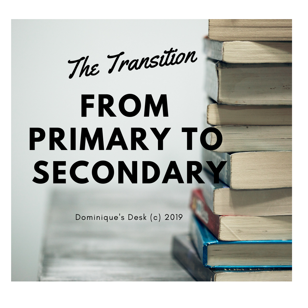 The Transition From Primary to Secondary