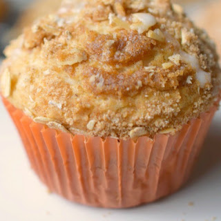 Streusel Topped Chai Muffins.