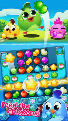 Chicken Splash 3-A Free Match 3 Puzzle Game- screenshot thumbnail