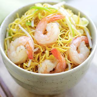 Shrimp Chow Mein Recipes.