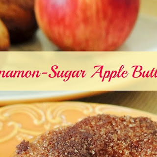 Cinnamon-Sugar Apple Butter Donuts