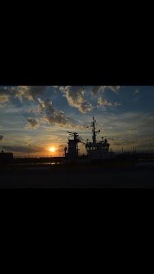 Tramonto al porto di Alebog888