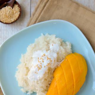 Mango Sticky Rice | Khao Niew Mamuang | ข้าวเหนียวมะม่วง.