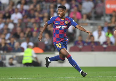 Un contrat avec le noyau pro et une clause monumentale pour Ansi Fati au Barça