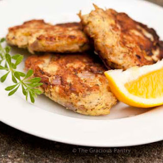Clean Eating Tuna Patties.