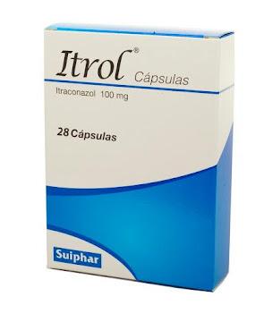 Itrol 100Mg Cápsulas Caja