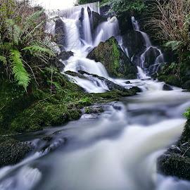 Milky way by Mariusz Murawski - Landscapes Waterscapes ( #landscape, #waterfall, #nature, #mobile, #waterscapes, #ireland,  )
