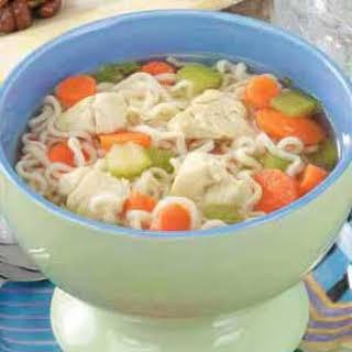 Oodles of Noodles Soup.