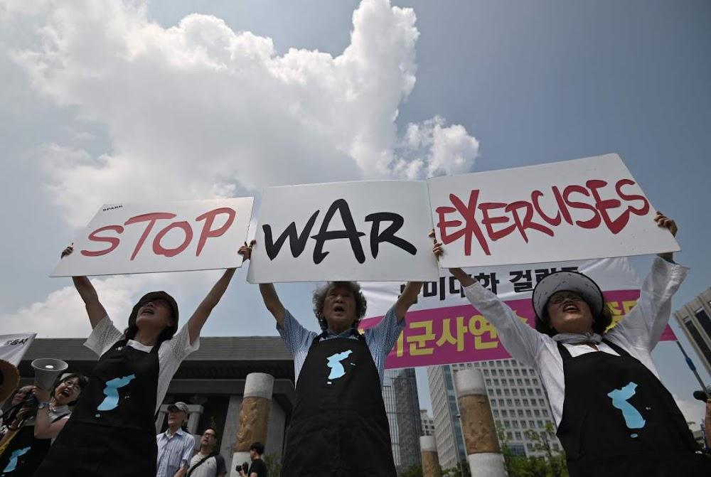 VSA en Suid-Korea begin oorlogspeletjies ten spyte van waarskuwings uit die Noorde