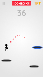 Tramp Land - Stickman Jump Arcade APK screenshot thumbnail 6