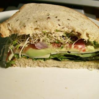 Weight Watchers Tomato Avocado & Cheese Sandwich