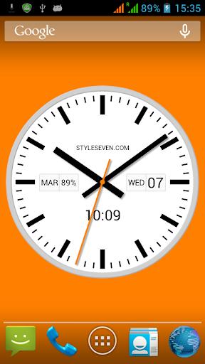 Swiss Analog Clock-7 ApkUpdate 2