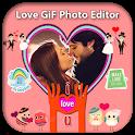 Romantic Love Gif Photo Editor 2020 icon